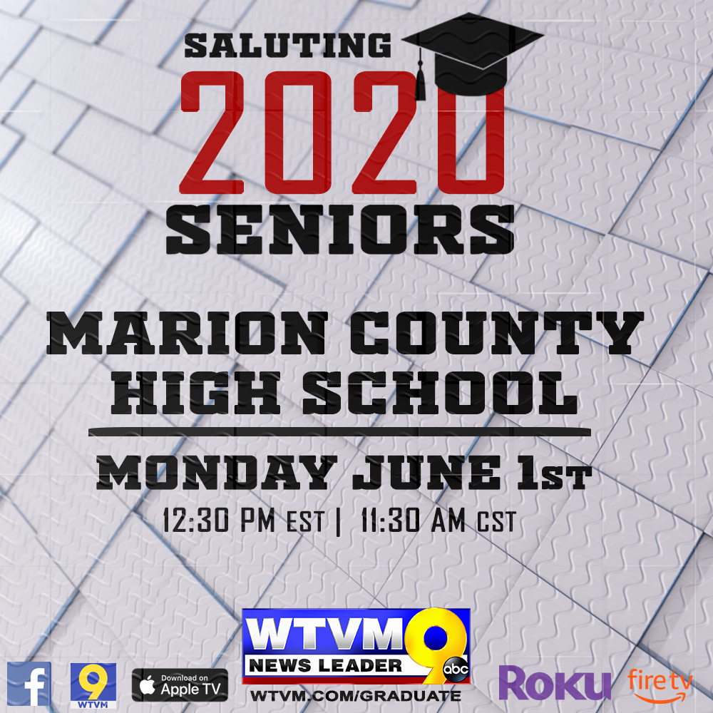 Class of 2020 Will Be Honored on WTVM