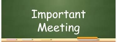 Scheduling and Informational Meetings for the 21-22 School Year