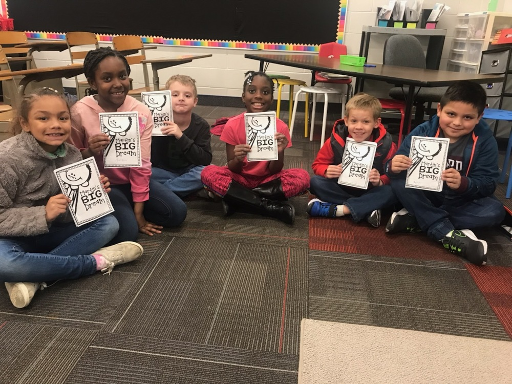 2nd Grade Learns about Martin Luther King Jr.