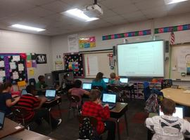 3rd grade students preparing for Georgia Milestones